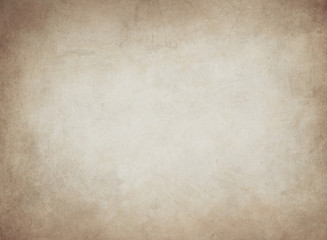old paper texture or background with dark vignette borders