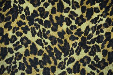 Closeup leopard fur texture