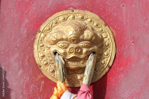 "Francois Illas New Tradition: ""Amdo Tibet Tibetan Monastery Monasteries Monastic Door"