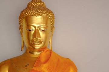 Buddha statue at Wat Pho, Bangkok Thailand