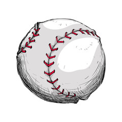 Baseball sport game vector illustration graphic design