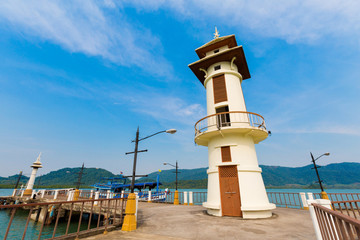 Beautiful lighthouse on Koh Chang