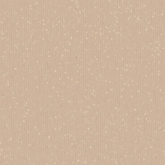 Paper cardboard texture. Vector seamless pattern. Abstract background. Grunge effect. Retro wrapping paperboard. Light brown, beige carton.