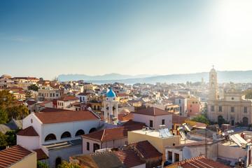 View of Chania city. Greece. Crete