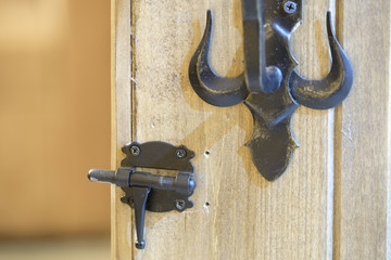 Lock with a key