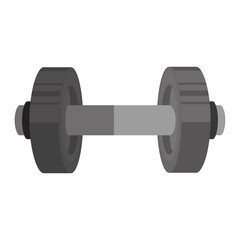 weight lifting dumbell icon
