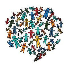 Social network symbol icon vector illustration graphic design