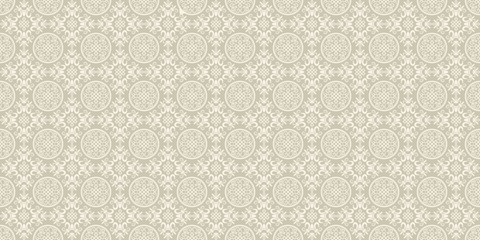 Asian decorative background. Chinese and Japanese style. Vector seamless pattern