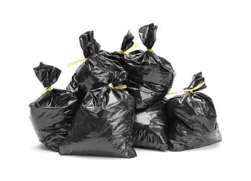 Trash Bag Pile