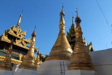 A Famous Stupa in Myanmar Burma