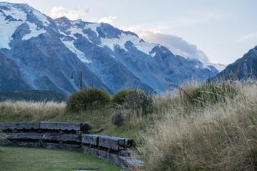 Backyard mountain views.