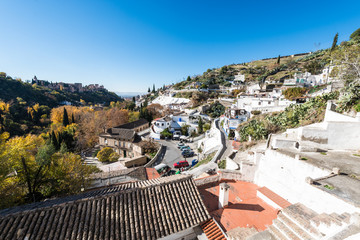 Sacromonte in Andalusia, Spain