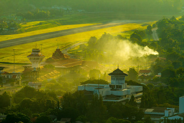 Misty in the morning in Northern Thailand