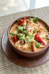 Thai Tom yum Kung