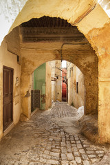 The beautiful Medina of Meknes, Morocco
