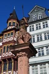 Fachwerkzeile am Römer in Frankfurt am Main