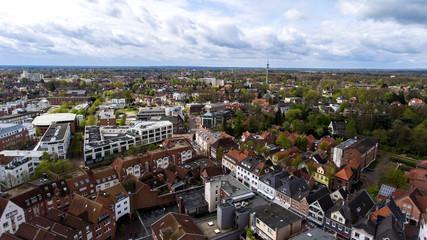 Nordhorn Vechte-Arkaden Luftbild Innenstadt