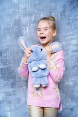 fluffy bunny bag