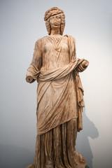 Statue of Claudia Antonia Tatiana from the Bouleuterion