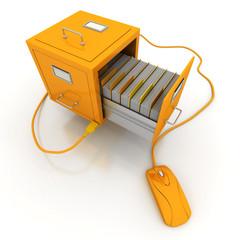 File search yellow