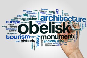 Obelisk word cloud