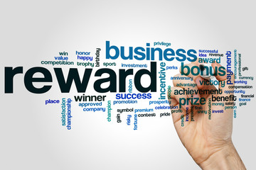 Reward word cloud