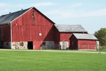 Red Barn and Sheds
