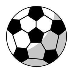soccer ball equipment line vector illustration eps 10