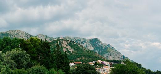 The Church of St. Sava in Montenegro near Sveti Stefan island