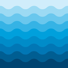 Abstract blue wave pattern background