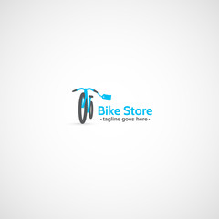 Bicycle Store logo.