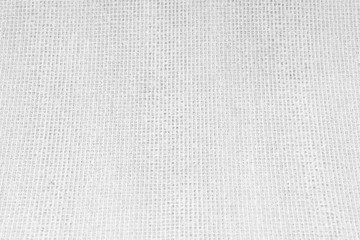 White Nylon Fabric Background.