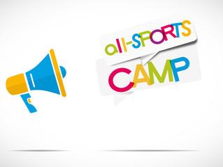 megaphone : all-sports camp