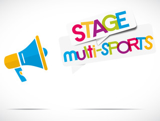 mégaphone : stage multi-sports