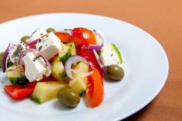 Fresh Greek salad bowl