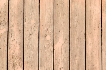 Old wooden planks with cracked