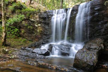 徳島県三好市 黒沢湿原 たびの尻滝