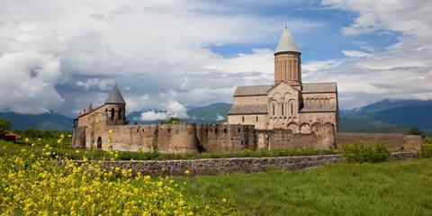 Panorama view of Alaverdi Monastery, Georgia.