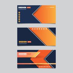 Web Design Elements - Header or Banner Design Set