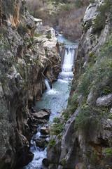 Fototapete - Beautiful landscape at Caminito del Rey