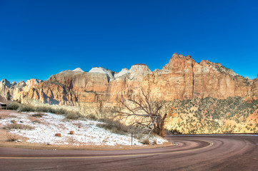 The Road Into Zion