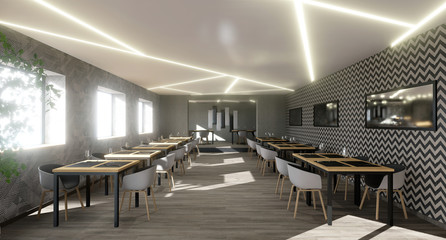 vue 3d restaurant design 05