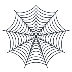 Spider web - Cobweb vector  on white background - illustration