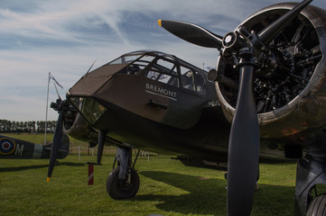 Brtistol Blenhiem world war two bomber