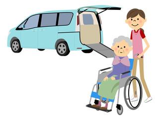 福祉車両と高齢者