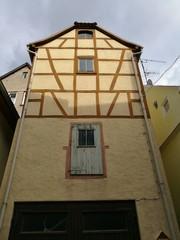 Schmales Haus in der Altstadt Klingenberg