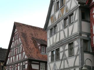 Fachwerkhäuser in Klingenberg am Main