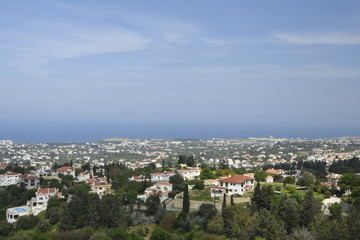 View to the North West over the Kyrenia town