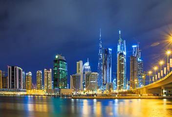 Dubai panorama skyline 5