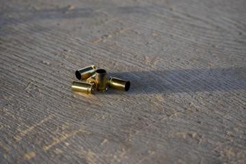 old 45 brass casings